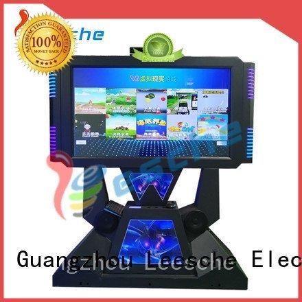 operated arcade Leesche arcade machine