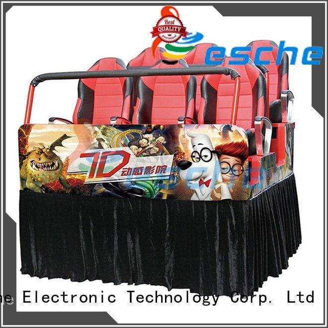 Leesche Brand truck motion 5d cinema for sale mobile leesche