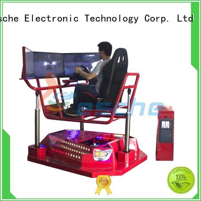 Leesche Brand design axis horse riding simulator for sale rotating car
