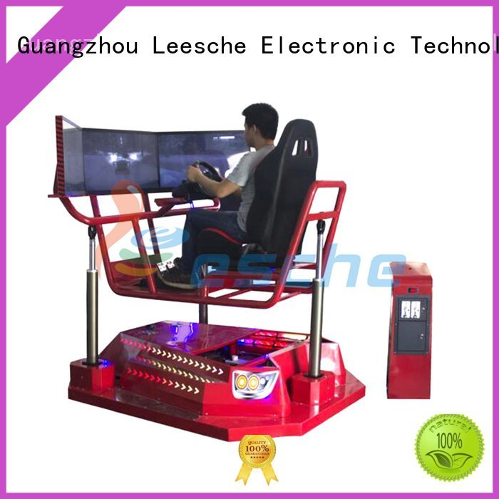 Leesche Brand degree riding motorbike horse riding simulator for sale