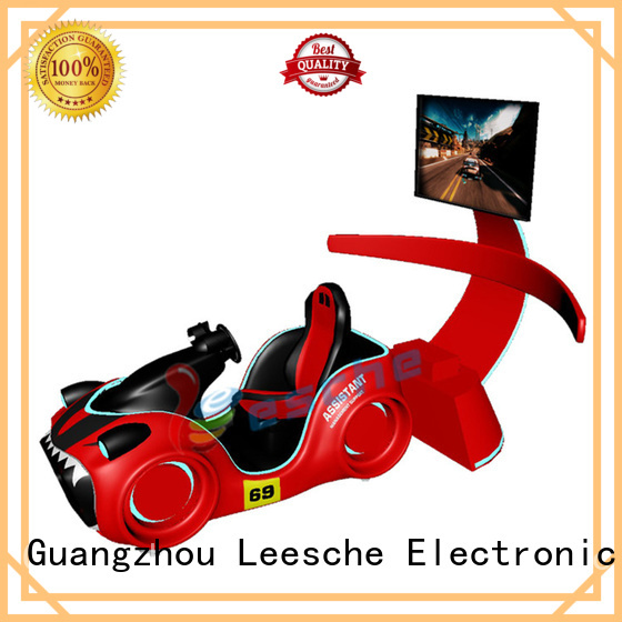 rotating mini ticket Leesche Brand horse riding simulator for sale factory