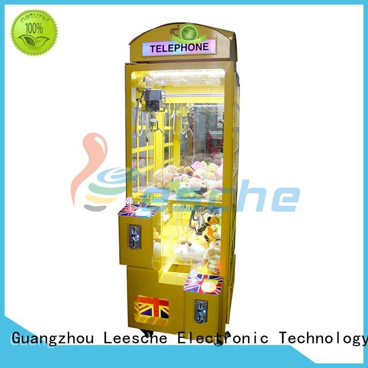 games plush price key Leesche claw arcade game