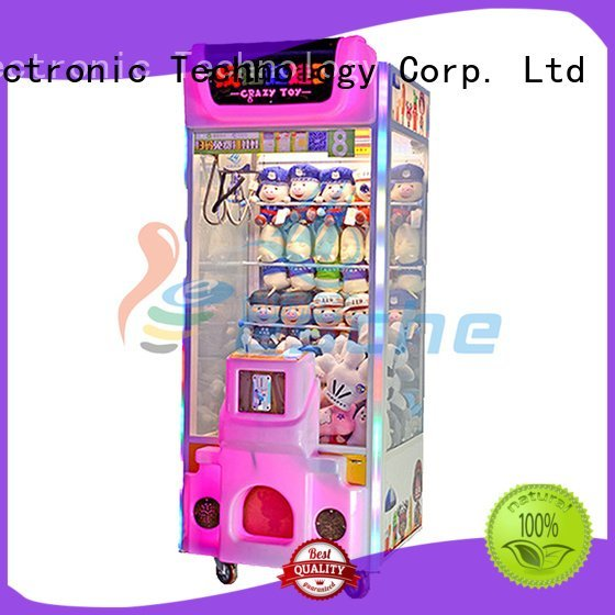 Leesche Brand plush arcade attractive the claw machine