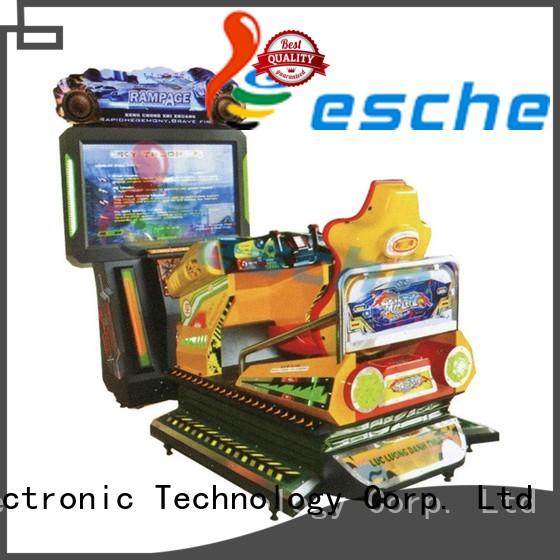 Leesche Brand rambo plush fighting arcade machine manufacture