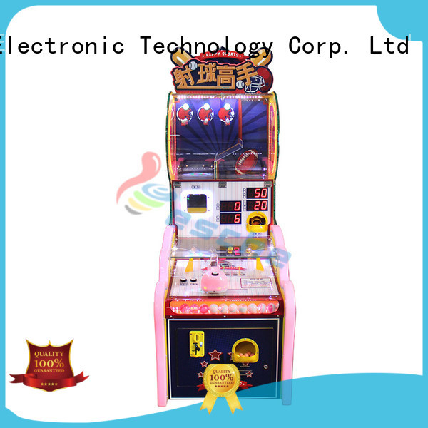 simulator arcade machine walking gatling Leesche company