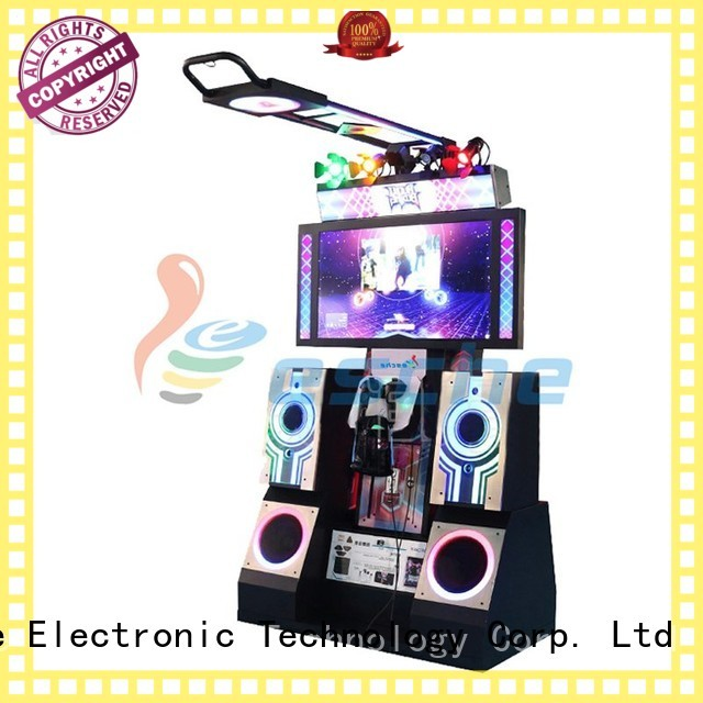 hockey gun dance dance revolution arcade machine Leesche manufacture