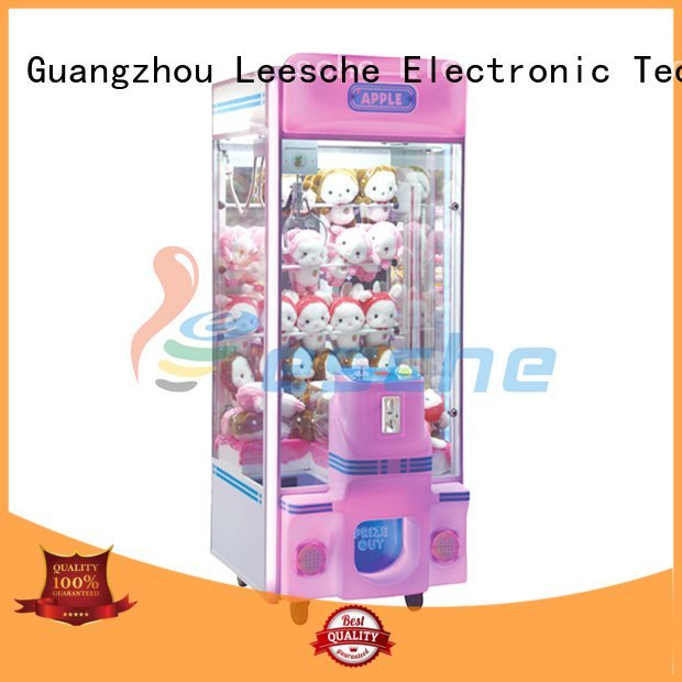 Leesche Brand attractive coin the claw machine acceptor claw
