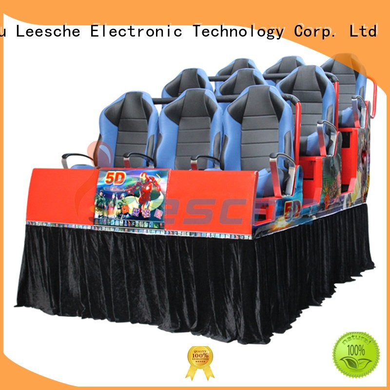 Leesche Brand 7d platform 5d 5d cinema for sale seats