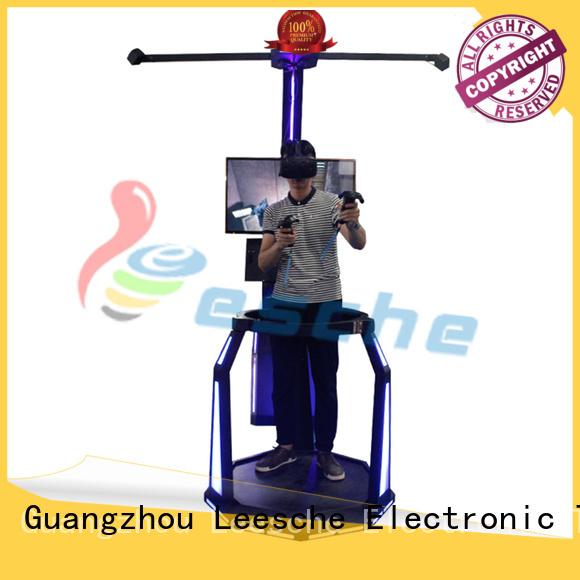 hero toy simulator racing Leesche Brand vr shooting games supplier