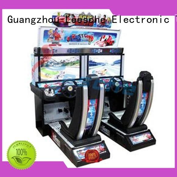 Leesche Brand h2 view race arcade machine manufacture