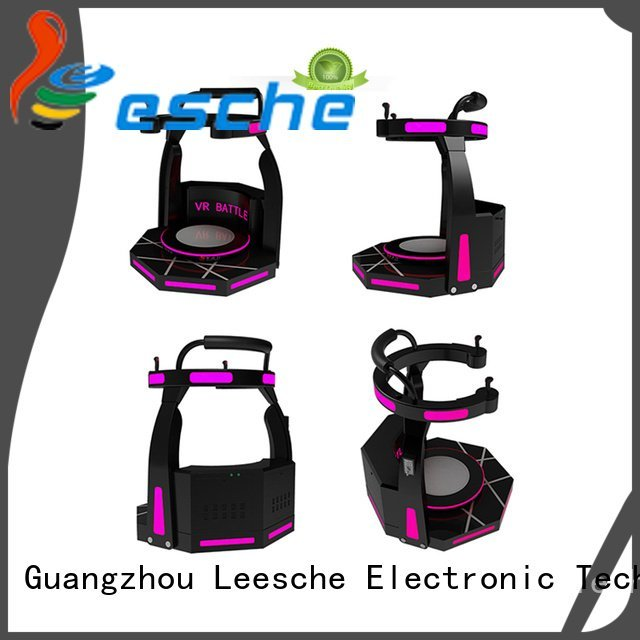 Leesche Brand machine shooting walking simulator standing exciting