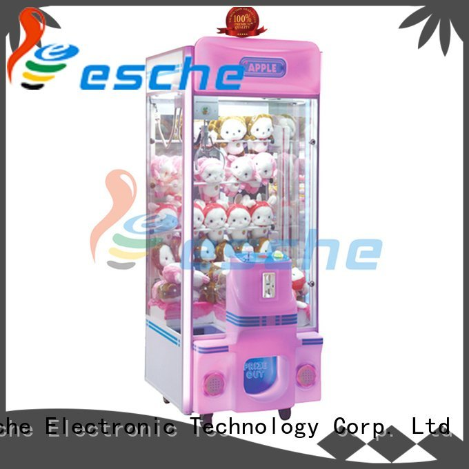 Leesche games toys attractive claw arcade game machine