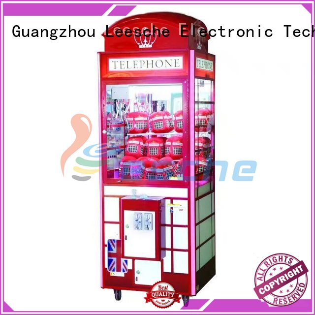 claw arcade game operated the claw machine vending Leesche