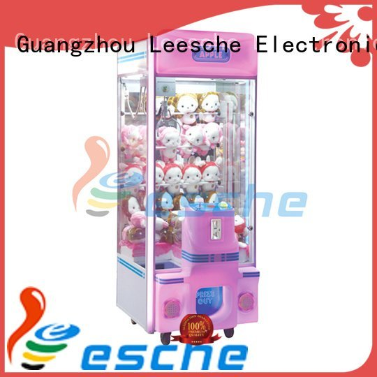 Custom the claw machine leesche toys attractive Leesche
