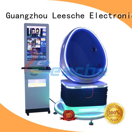 Leesche Brand exciting interactive egg 9d vr chair