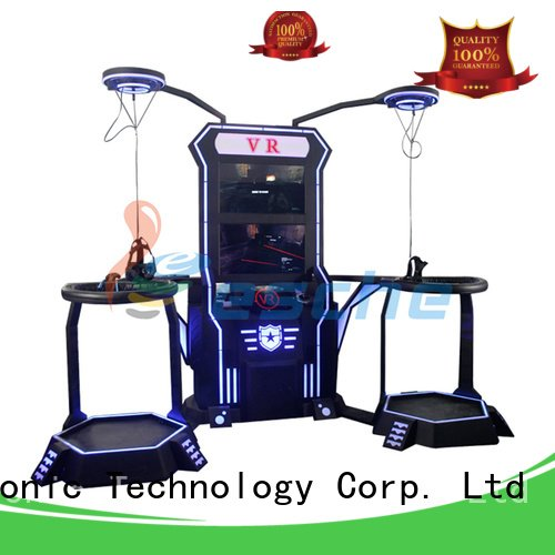 Custom vr shooting games shooting simulator dynamic Leesche