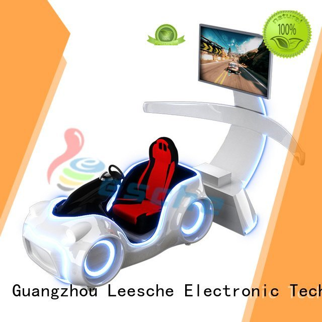 Leesche Brand riding screens newest horseback riding simulator platform