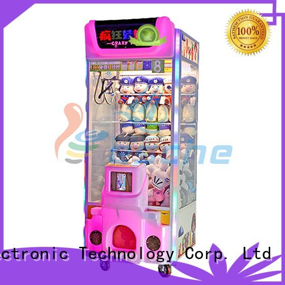 Hot claw arcade game machine claw plush Leesche Brand
