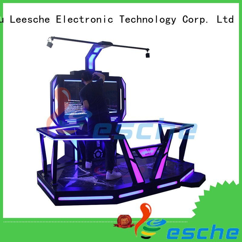 machine interactive game Leesche vr shooting games