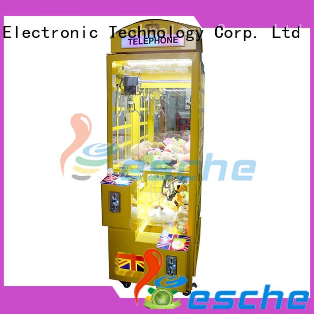 pusher key coin vending Leesche claw arcade game