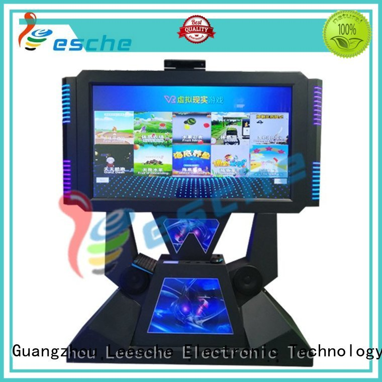 Leesche Brand plush arcade machine children factory