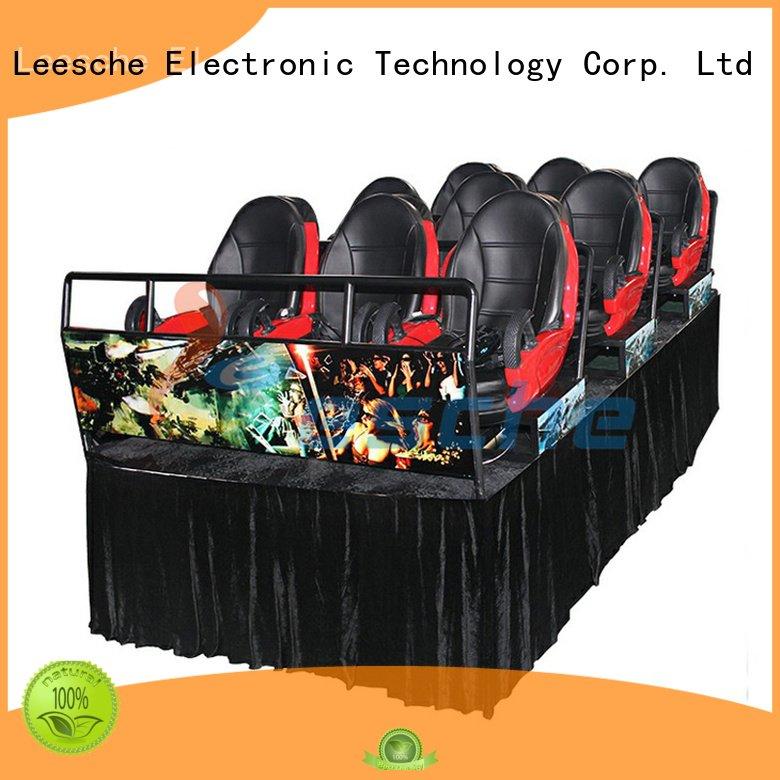 Leesche Brand 360 simulator 9d gear vr cinema truck