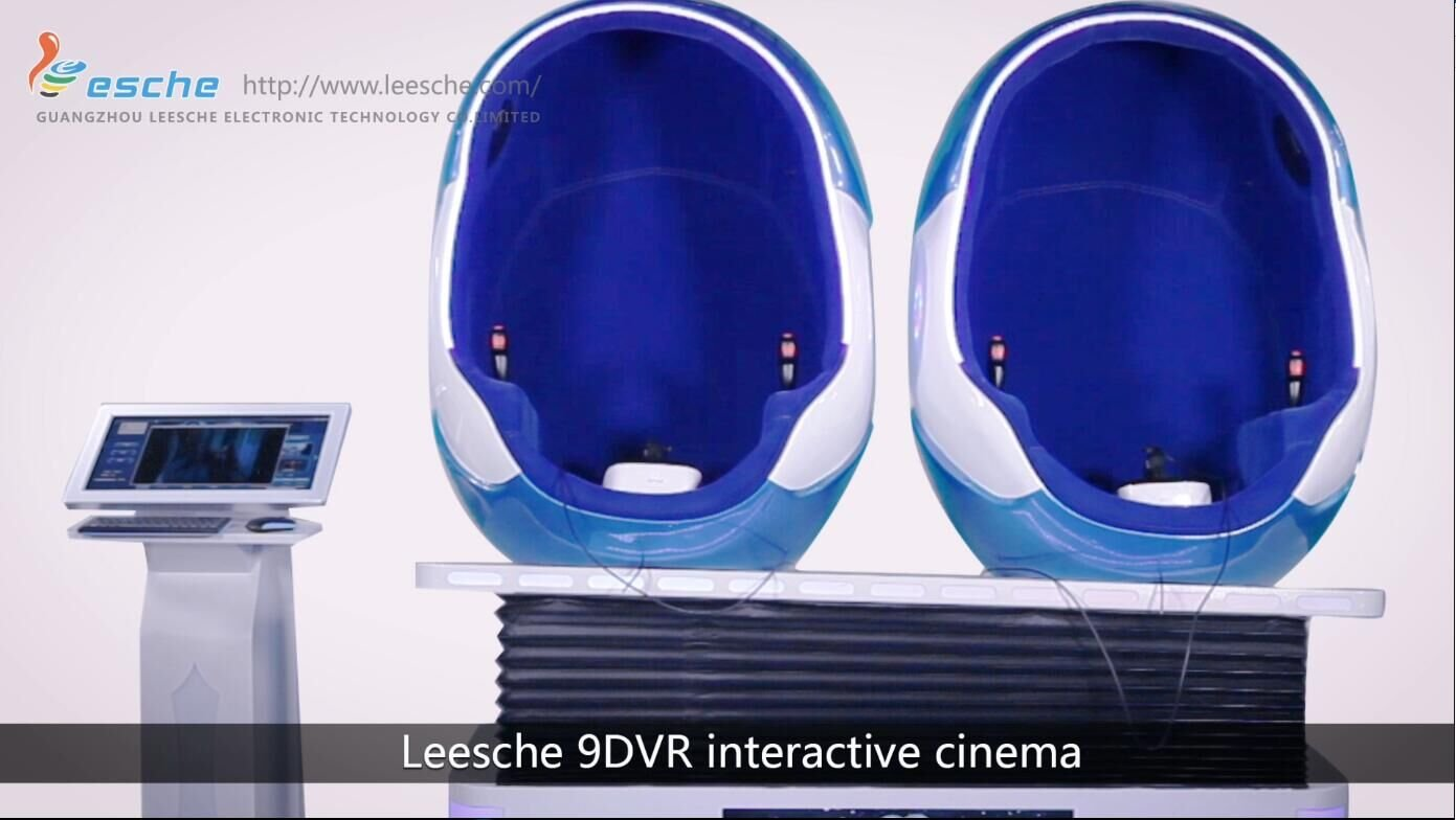 Leesche 9DVR interactive cinema brings you 360°